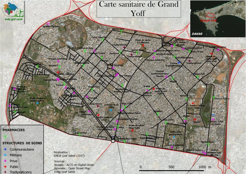 CARTE SANITAIRE DE GRAND YOFF